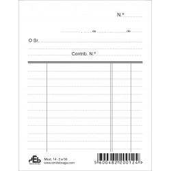Livro PEB 103-  Almaço C/C 2 Colunas